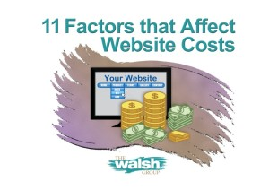 11 Factors that Affect Website Costs