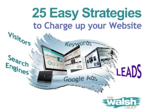 25 Easy Strategies to Charge Up Your Website
