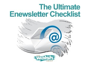 The Ultimate Enewsletter Checklist
